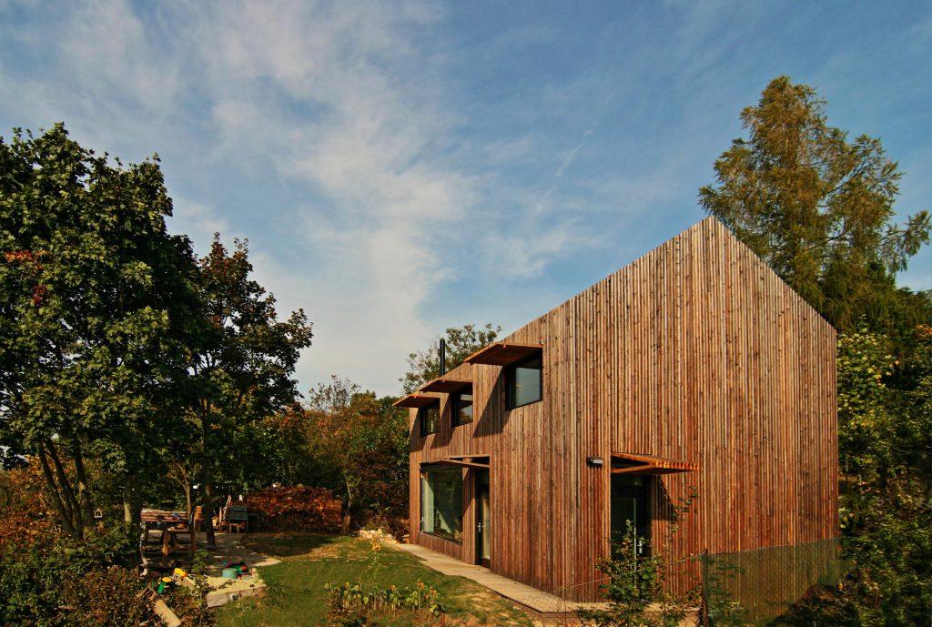 Moderní dřevostavba Ochoz u Brna