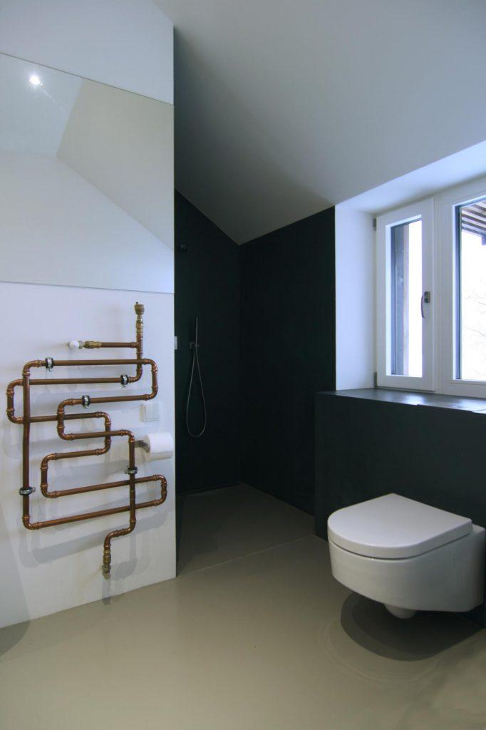 Dřevostavba Ochoz u Brna - koupelna