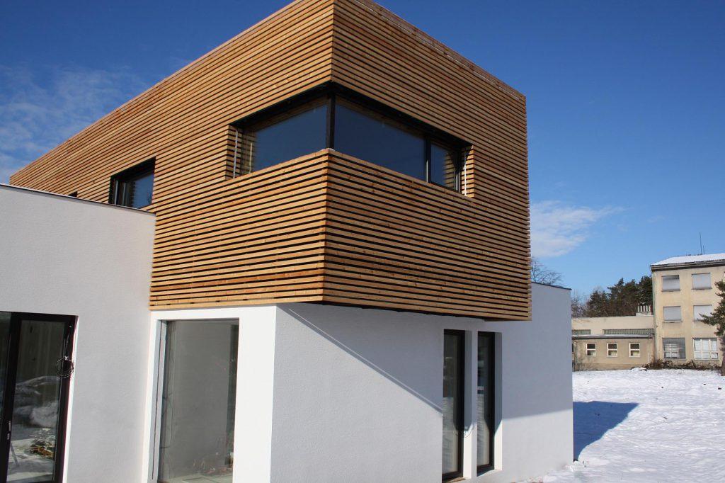 Moderní dřevostavba v pasivním standardu