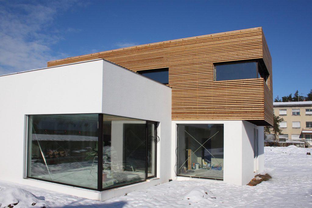 Moderní dřevostavba Dubňany v pasivní standardu