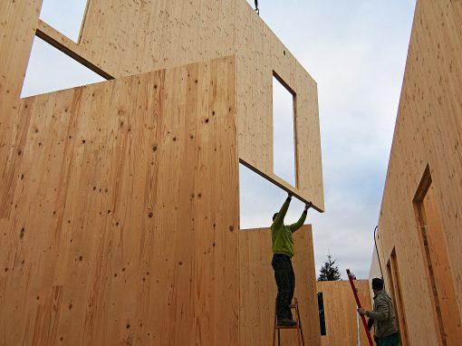 Pasivní dům zCLT panelů