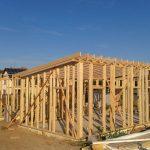 Konstrukce dřevostavby v Černé Hoře